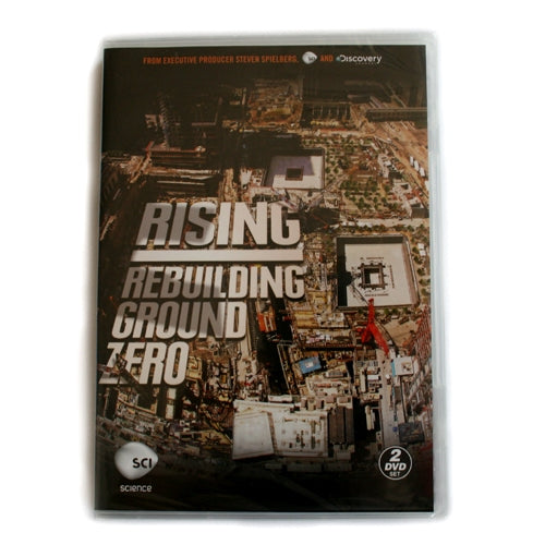 Rising: Rebuilding Ground Zero DVD -  Books & Media at the 9/11 Tribute Museum