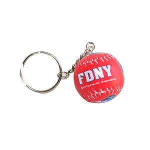 FDNY Baseball Keychain -  Gifts at the 9/11 Tribute Museum