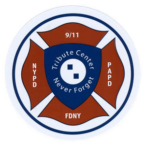 Maltese Cross Sticker -  Gifts at the 9/11 Tribute Museum