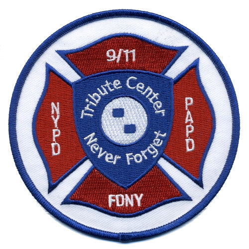 Maltese Cross Patch -  Gifts at the 9/11 Tribute Museum