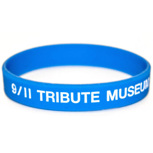 9/11 Tribute Museum Silicone Wristband -  Apparel at the 9/11 Tribute Museum