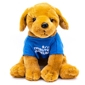 Plush Rescue Puppy -  Gifts at the 9/11 Tribute Museum