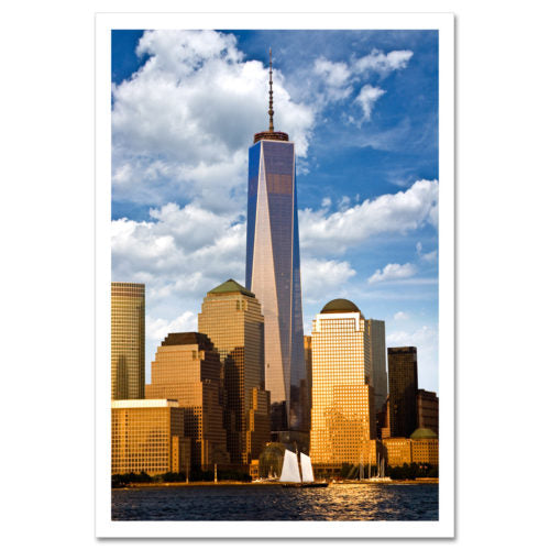 One World Trade Center Magnet -   at the 9/11 Tribute Museum