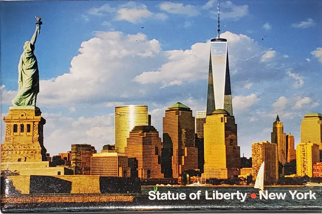 Statue of Liberty One World Magnet