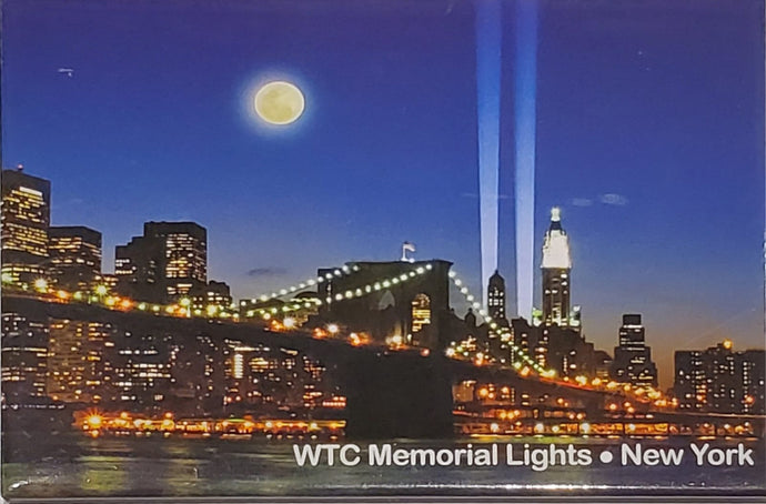 Memorial Lights Magnet