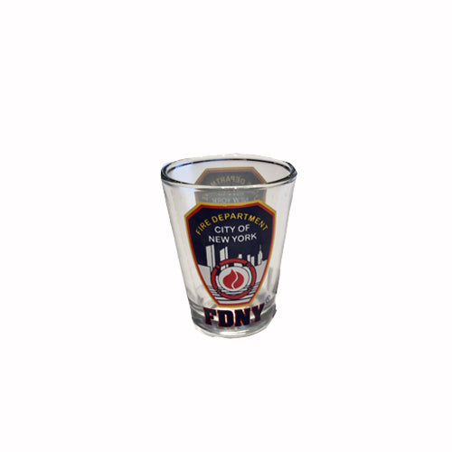 FDNY Shot Glass