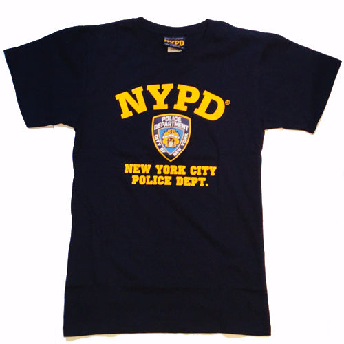 NYPD Navy Blue T-Shirt