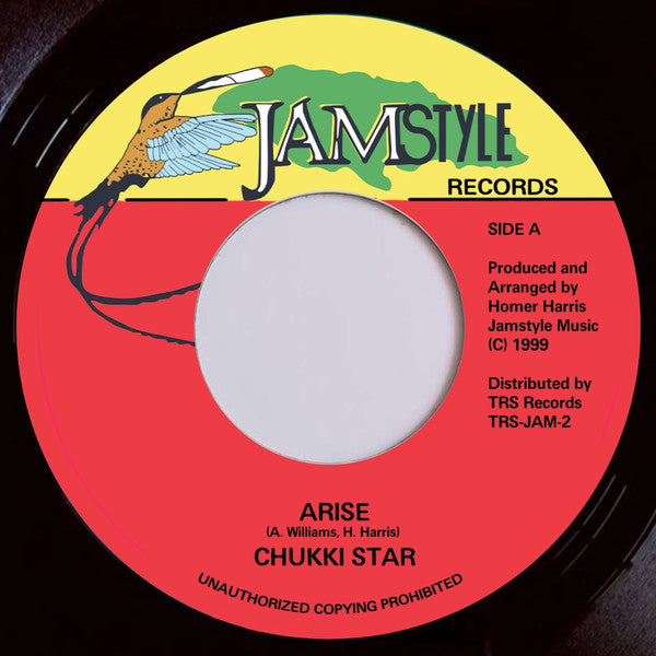 "CHUKKI STAR - Arise (7"")"