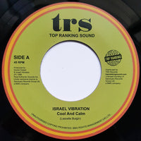 "ISRAEL VIBRATION - Cool And Calm (7"")"