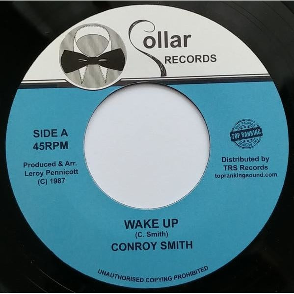 "7"" CONROY SMITH - Wake Up - TRS Records"