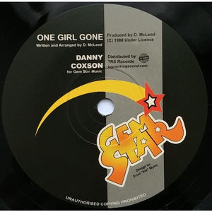 "7"" DANNY COXSON - One Girl Gone - TRS Records"