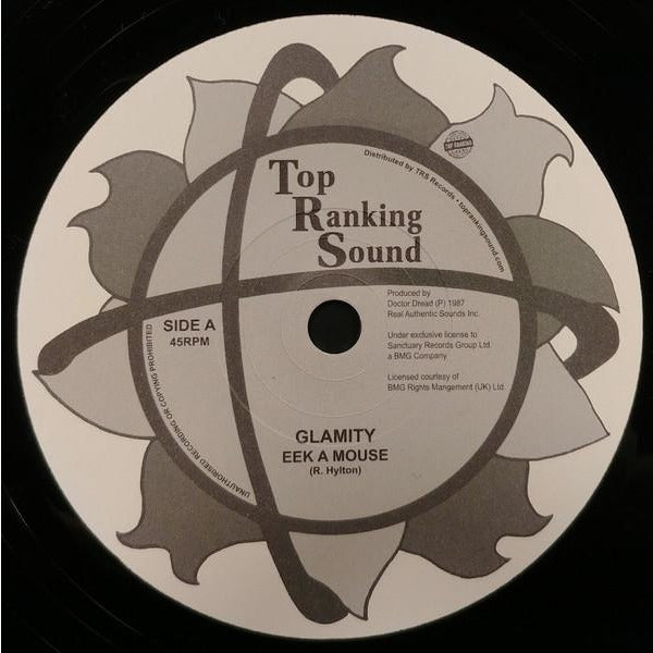 "7"" EEK A MOUSE - Glamity - TRS Records"