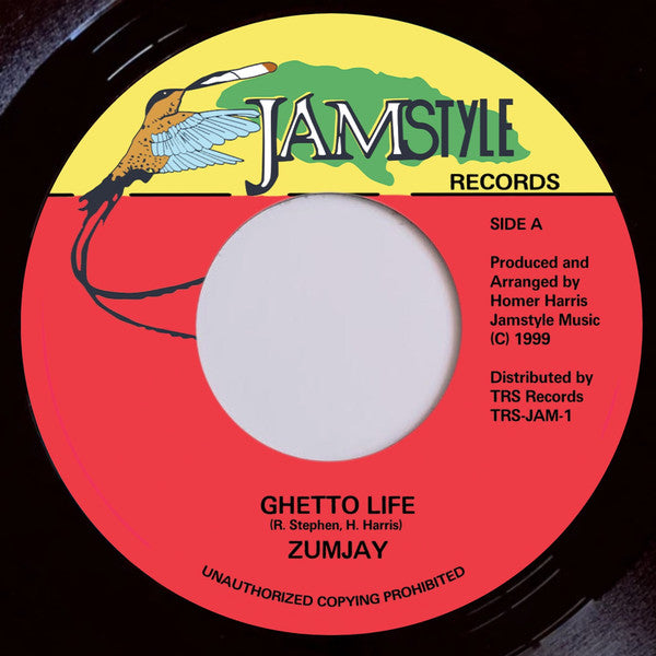 "ZUMJAY - Ghetto Life (7"")"