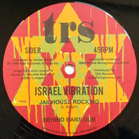 "12"" ISRAEL VIBRATION - Vultures / Jailhouse Rocking - TRS Records"