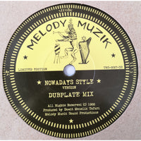 "7"" DAWIT MENELIK TAFARI - Nowadays Style (Dubplate Mix) - TRS Records"