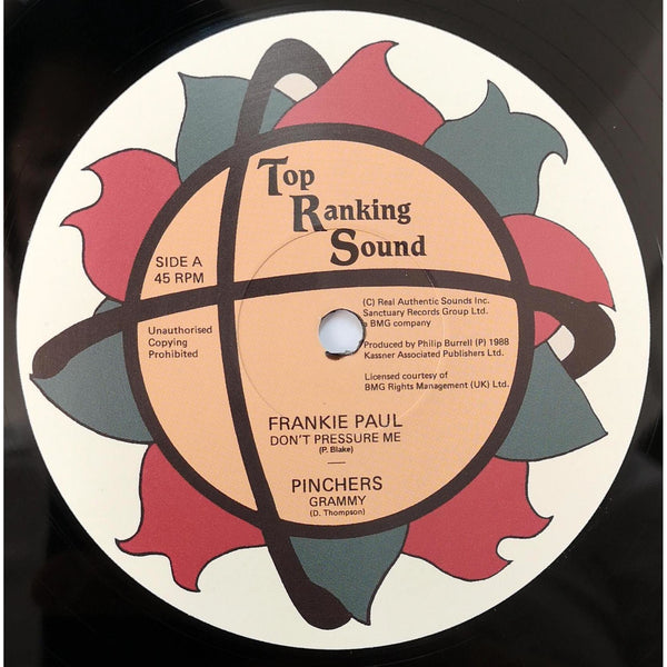 "FRANKIE PAUL / PINCHERS - Don't Pressure Me / Grammy (12"")"