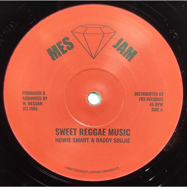 "HOWIE SMART / SOUJIE - Sweet Reggae Music (12"")"