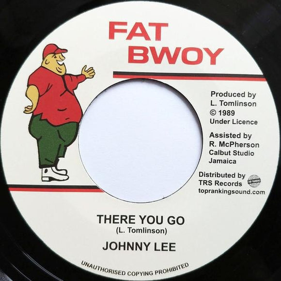 JOHNNY LEE - There You Go - TRS Records