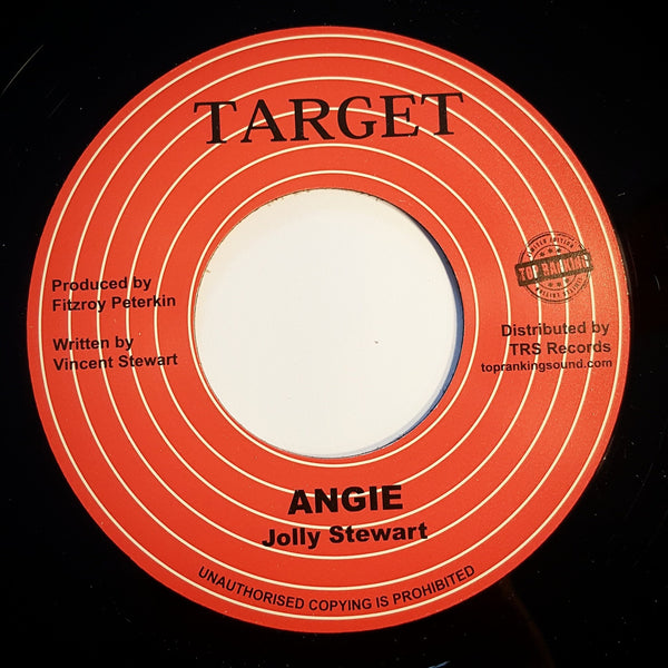 "7"" JOLLY STEWART - Angie - TRS Records"