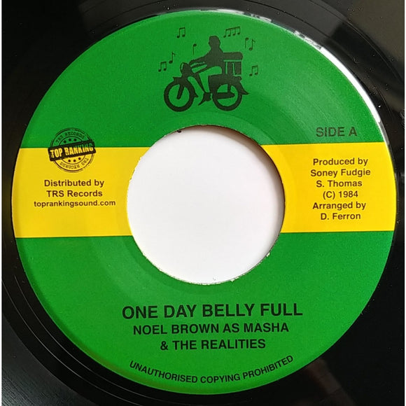 NOEL BROWN ‎– One Day Belly Full