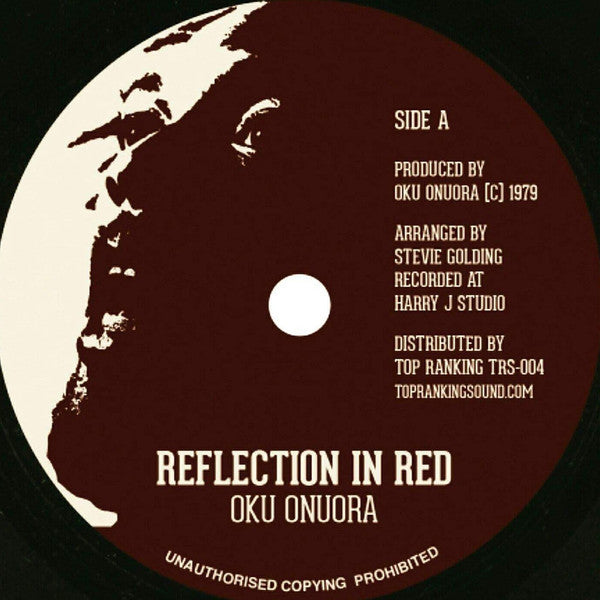 "7"" OKU ONUORA - Reflections In Red - TRS Records"