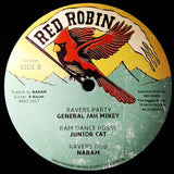 MIDNITE RIDERS / JAH MIKEY GENERAL - Bobby Was A Gangster / Ravers Party