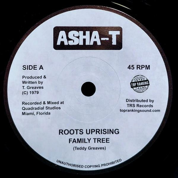 "7"" ROOTS UPRISING - Family Tree - TRS Records"