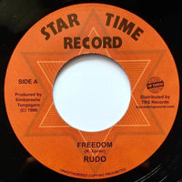 "7"" RUDO - Freedom - TRS Records"