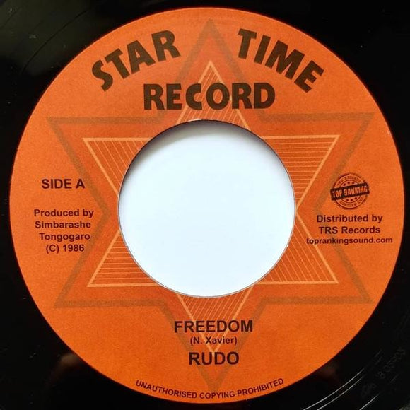RUDO - Freedom - TRS Records