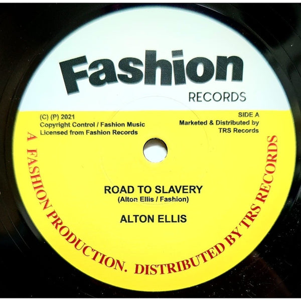 "ALTON ELLIS - Road To Slavery (7"")"