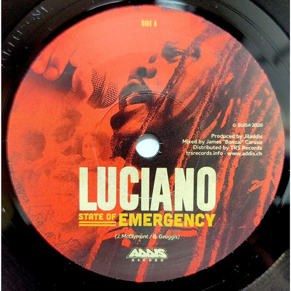 "LUCIANO - State Of Emergency (7"")"