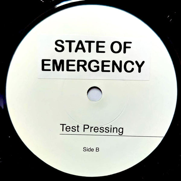 LUCIANO - State Of Emergency (TEST PRESS) 7""