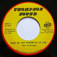 "THE VICEROYS - Rise In The Strength Of Jah (7"")"
