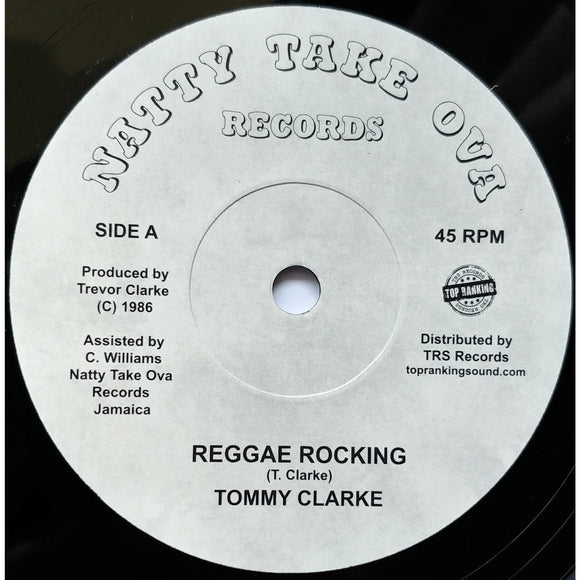TOMMY CLARKE - Reggae Rocking