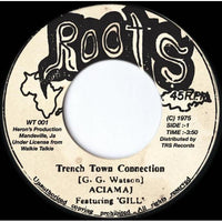 "7"" ACIAMAJ - Trench Town Connection - TRS Records"