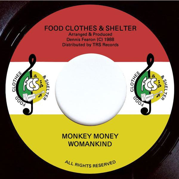"WOMAN KIND - Monkey Money (7"")"