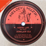 "7"" DAWIT MENELIK TAFARI - Ghetto Life / Peace And Love (Dubplate Mix) - TRS Records"