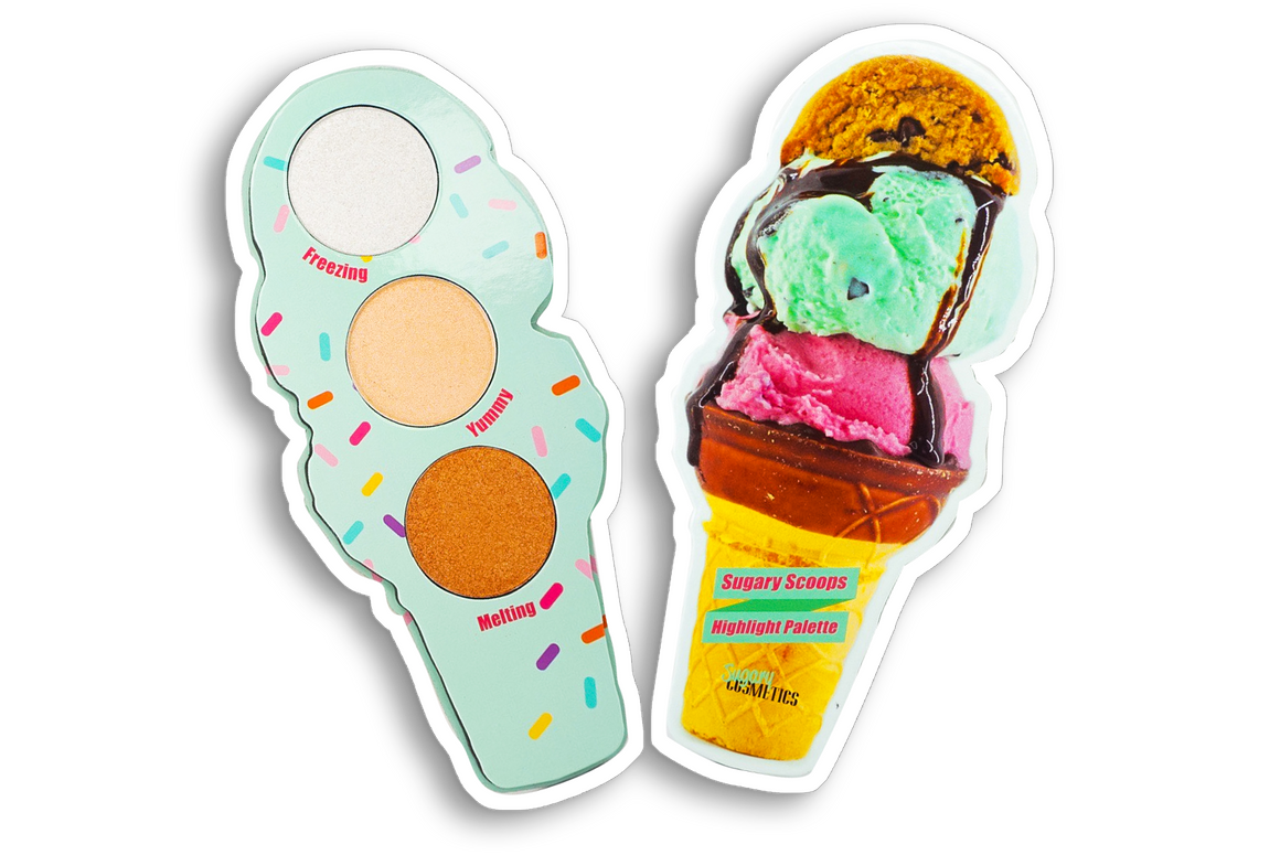 ICE CREAM CONE HIGHLIGHT PALETTE