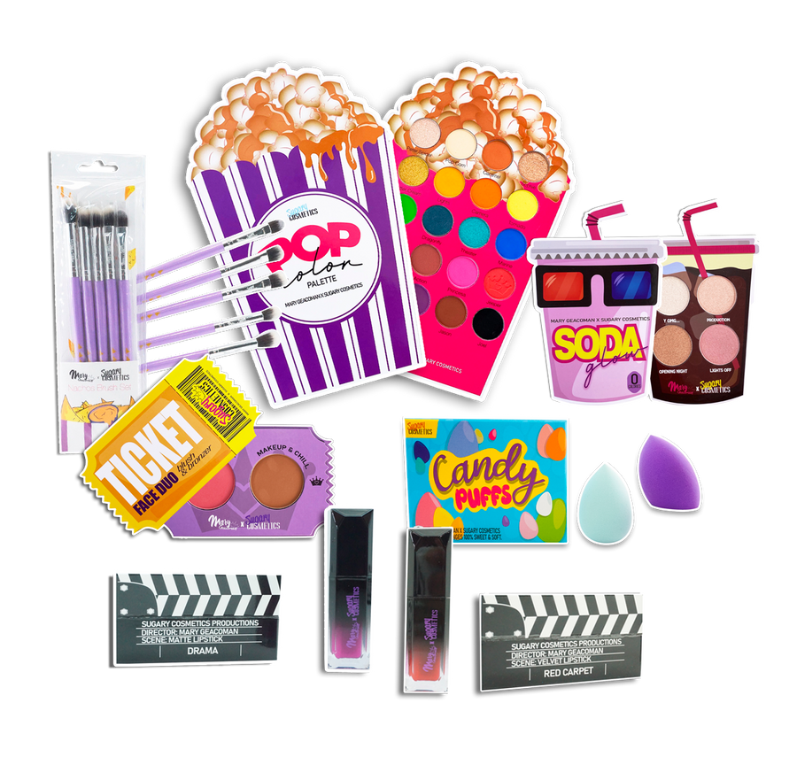 MOVIE NIGHT COLLECTION BUNDLE | MARY GEACOMAN X SUGARY COSMETICS