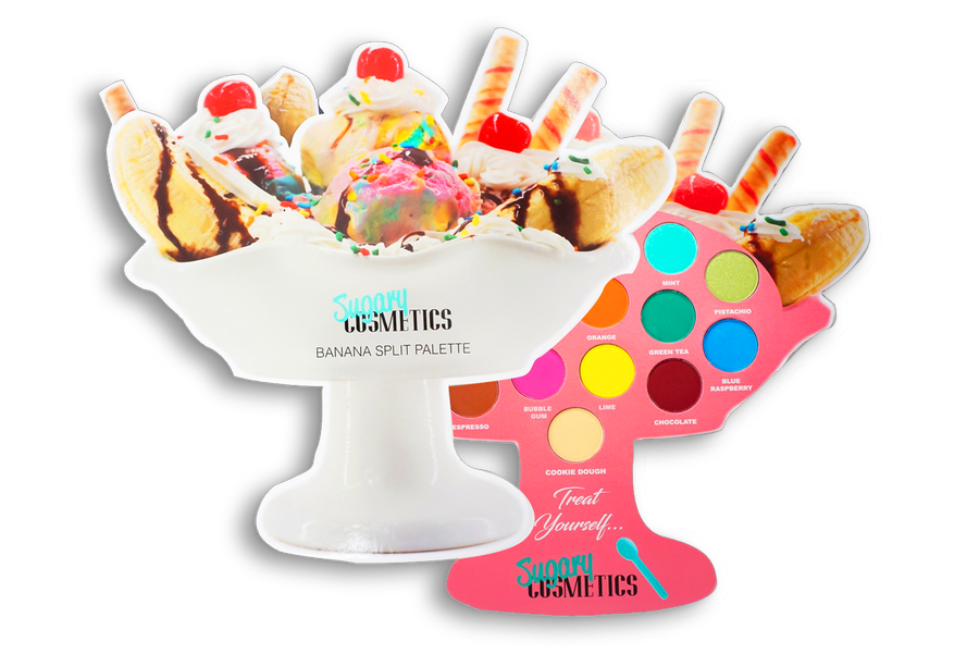 BANANA SPLIT PALETTE - ICE CREAM COLLECTION