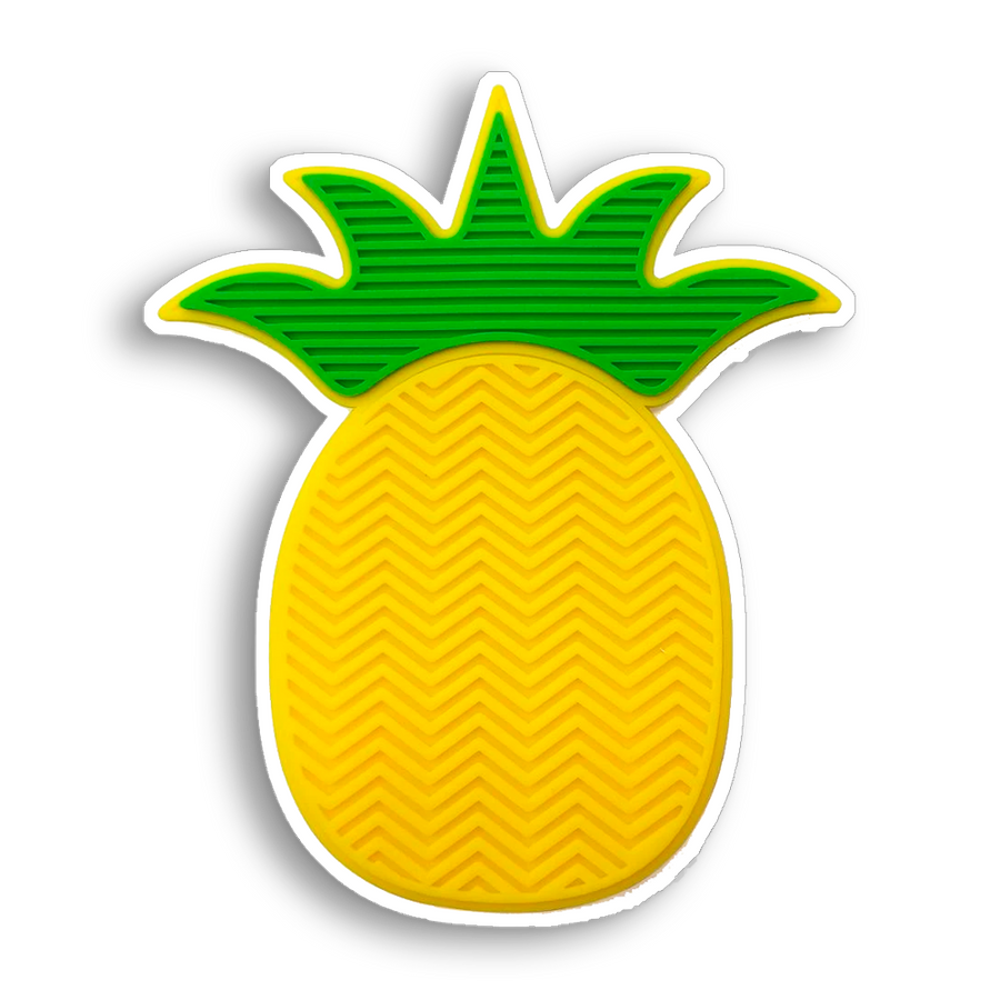 PINEAPPLE MAKEUP BRUSH CLEANING MAT
