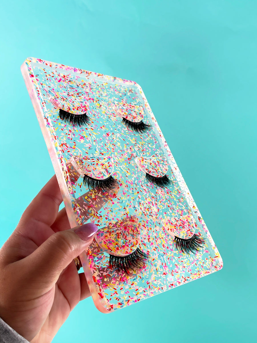Sugary sprinkles on top Lash tray -Holder