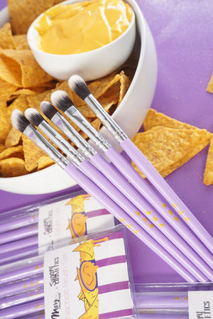 NACHOS MAKEUP BRUSH SET - 5PC | MARY GEACOMAN X SUGARY COSMETICS -DEAL OF THE DAY