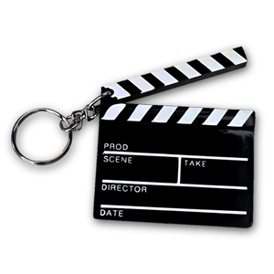 MOVIE NIGHT COLLECTION PR CLAPPER KEYCHAIN