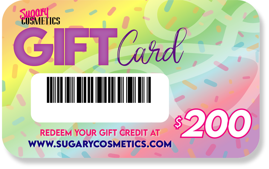 Sugary Cosmetics Gift Card