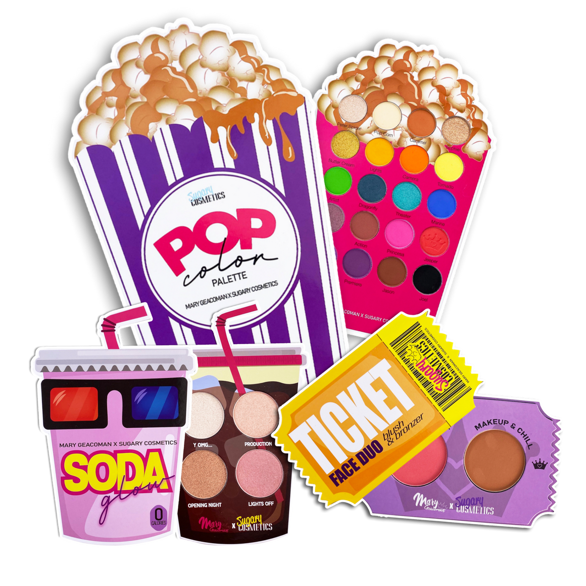 PALETTES BUNDLE- MOVIE NIGHT COLLECTION