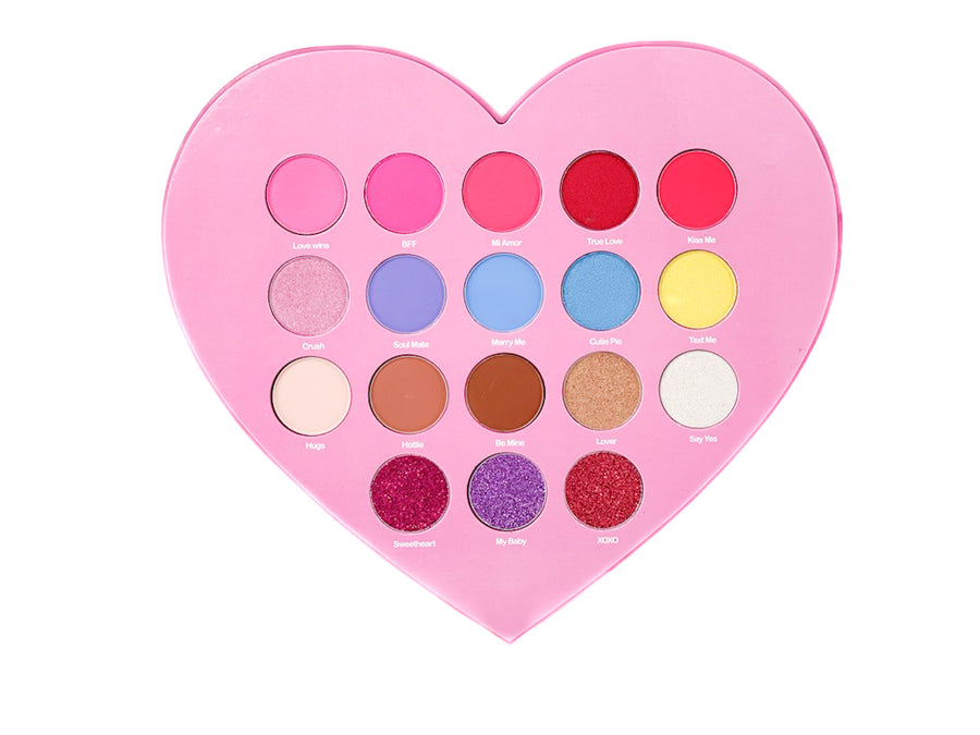 SUGARY HEARTS EYESHADOW PALETTE