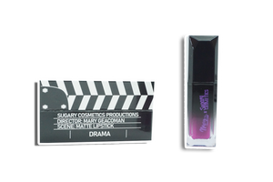 CLAPPER LIPSTICK DRAMA- MATTE| MARY GEACOMAN X SUGARY COSMETICS MOVIE NIGHT