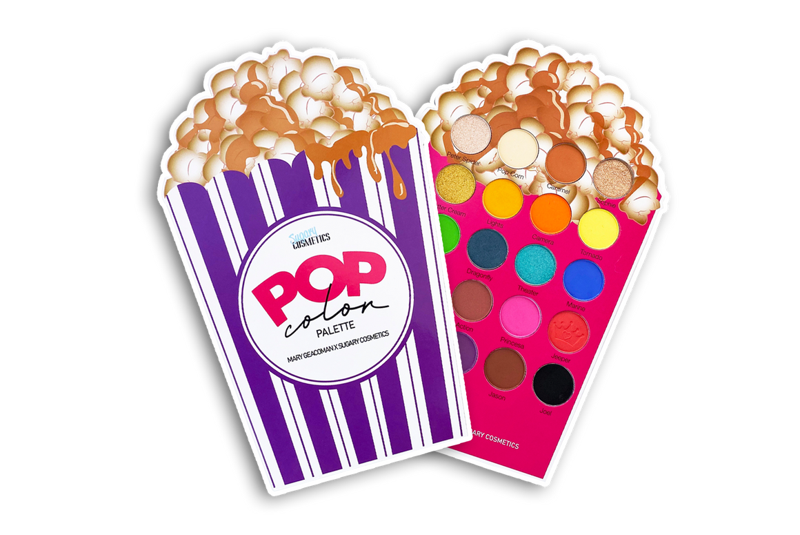 POP COLOR PALETTE |MOVIE NIGHT COLLECTION PRE-ORDER