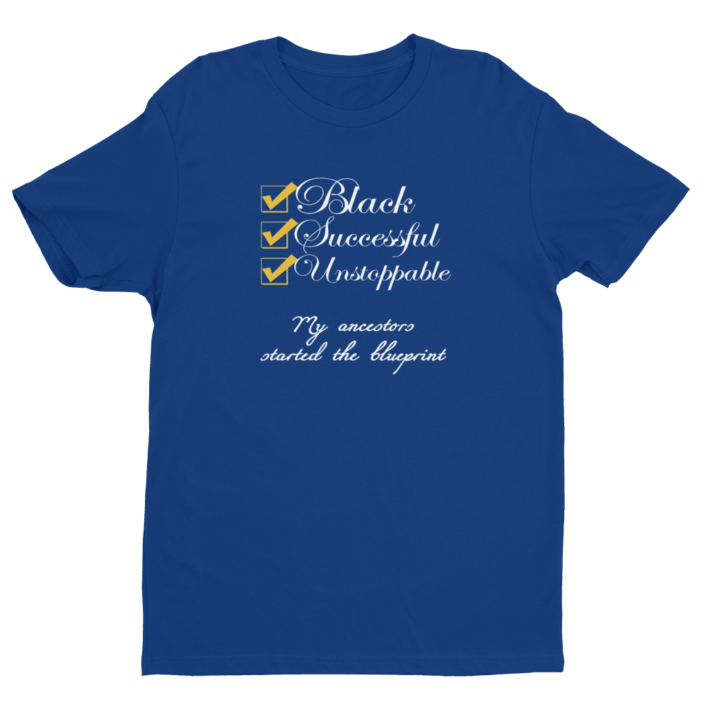 Black & Successful Shirt - A.D. Vibez LLC